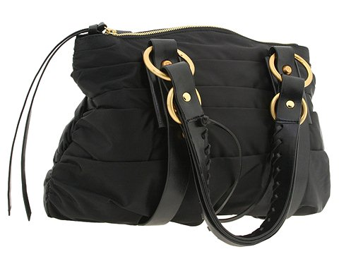 Francesco Biasia - Butterfly Glam 2 - Satchel (Black) - Bags and Luggage
