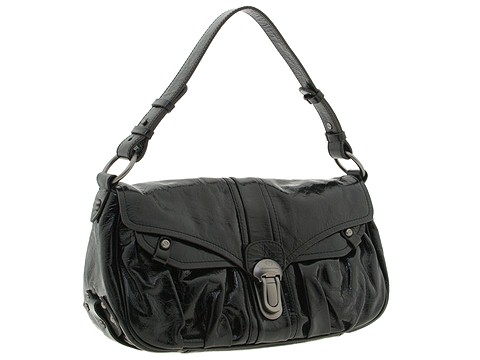 Francesco Biasia - Hip Colette 2 - East/West Flap (Black) - Bags and Luggage