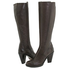 Stacked Heel Boots from Costume National    Manolo Likes!  Click!