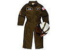 Aeromax - Jr. Armed Forces Pilot with Helmet (Toddler/Little Kids/Big Kids) (Army Green) - Apparel