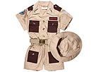 Aeromax - Jr. Explorer with Cap (Toddler/Little Kids/Big Kids) (Brown) - Apparel