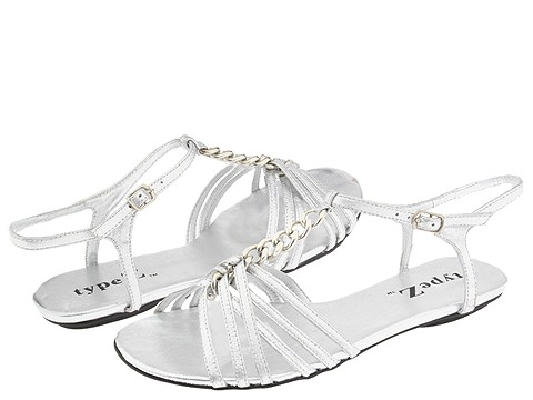 8521 759482 p - silver n gold flats