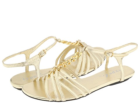 8521 759484 p - silver n gold flats