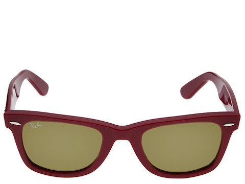 Ray-Ban 2140 Original Wayfarer at Zappos.com :  frames free shipping cranberry ray-ban
