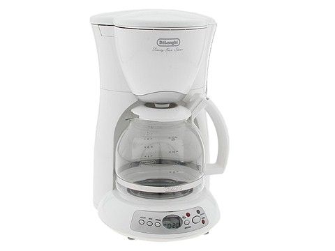 DeLonghi - Twenty Four Seven Coffee Maker (White) - Home