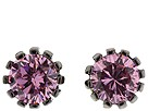 Betsey Johnson - Small Pin Stud Earring (Rose Quartz) - Jewelry
