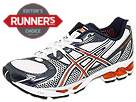 ASICS - Gel-Kayano 15 (White/Lightning/Vibrant Orange) - Footwear