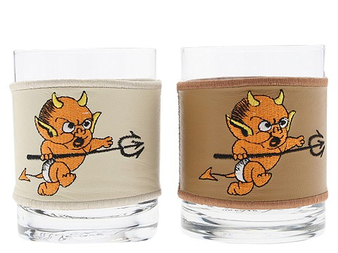 Ed Hardy - Leather Wrapped Dof Set of 2 (Little Devil) - Home