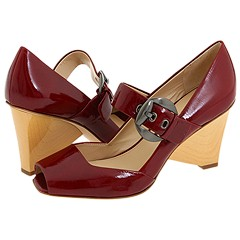 Via Spiga - Caramia2 (Dark Red Tumbled Patent) - Footwear