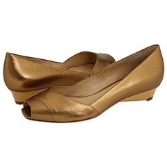 Via Spiga - Elaine2 (Spiced Gold Foiled Nappa) - Footwear