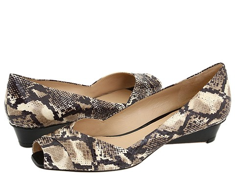 Via Spiga - Elaine2 (Natural Land Snake/Vachetta) - Footwear