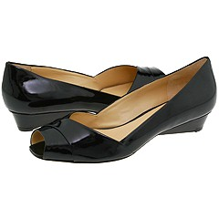Via Spiga - Elaine2 (Black Tumbled Patent) - Footwear