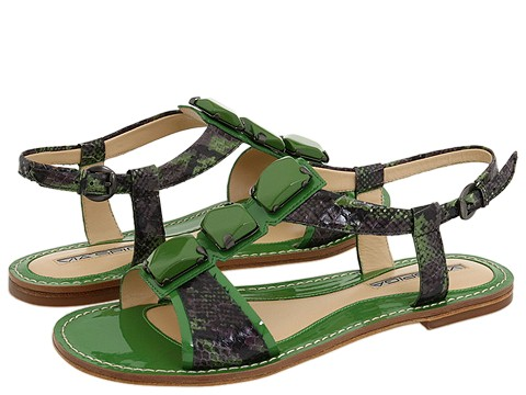 Via Spiga - Hope (Palm Land Snake/Patent) - Footwear