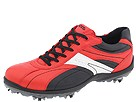 ECCO Golf - Casual Cool II Premiere (Lava/Black/White) - Footwear