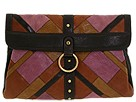 Frye - Emily Clutch (Brown) - Bags and Luggage
