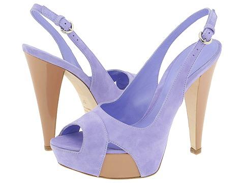 Sergio Rossi - Penelope-AR3157 (Lavander/Sand) - Footwear