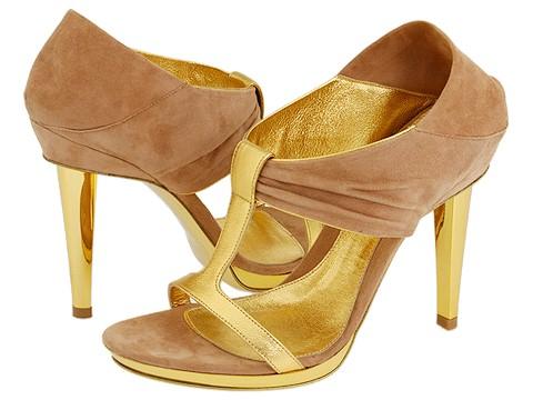 Sergio Rossi - Shaira-AV6747 (Ciad (Sand)) - Footwear