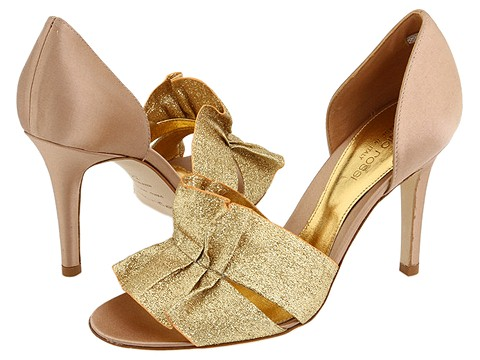 Sergio Rossi - Suami-AT6572.006 (Ciad (Gold)) - Footwear