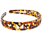 Marc by Marc Jacobs - Filigree Logo Headband (Tortoise) - Accessories