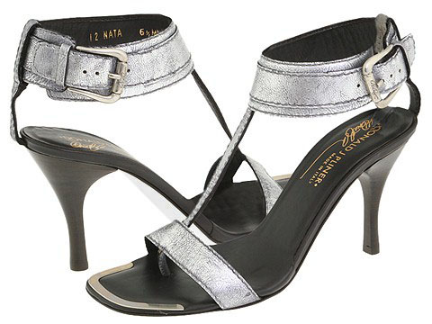 Donald J Pliner - Nata (Silver Antique Metallic) - Footwear