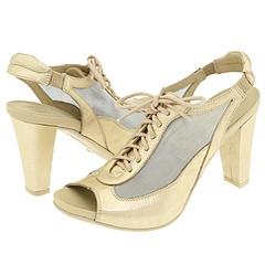 Donald J Pliner - Piu (Mushroom Antique Metallic Patent) - Footwear