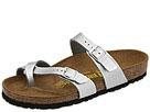 Birkenstock - Mayari (Silver Birko-Flor) - Footwear, Dress Shoes, Womens, Wide Fit, Wide Widths