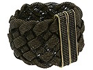 CC SKYE - Wide Mesh Bracelet (Dark Gold Oxidized) - Jewelry