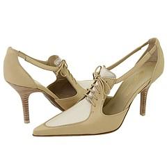 Donald J Pliner - Cate (Mushroom/Ivory/MRM Nappa) - Footwear
