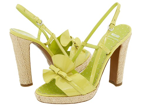 Moschino - CA1603CC1P SF0 (Lime) - Footwear