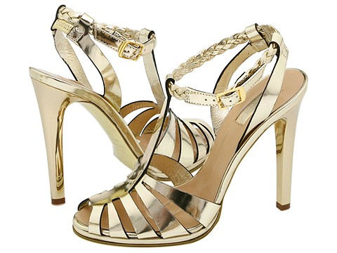 Roberto Cavalli - T90044 (Specchio Platino) - Footwear