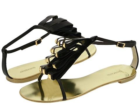 Roberto Cavalli - T90032 (Nero) - Footwear