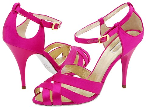Roberto Cavalli - T90003 (Raso Fuxia) - Footwear
