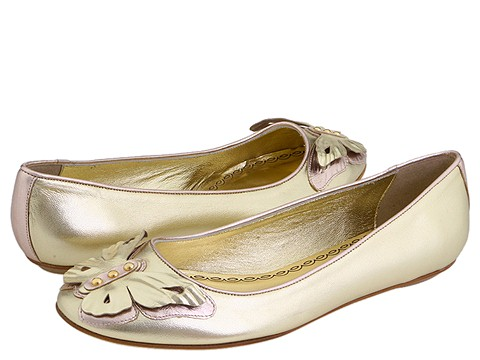 Juicy Couture - Adore (Platino Metallic Nappa/Quarzo Metallic Nappa) - Footwear