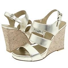 Donald J Pliner - Ivonne (Silver Metallic) - Footwear