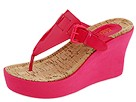 KORS Michael Kors - June (Fuschia Patent) - Footwear