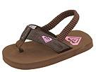 Roxy Kids - Pollywog (Infant) (Chocolate) - Footwear