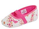 Roxy Kids - Amanda (Infant) (White/Pink Print) - Footwear
