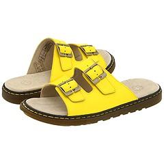 Dr. Martens - Ada 2 Strap Slide Color (Vibrant Yellow)
