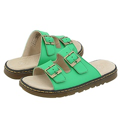 Dr. Martens - Ada 2 Strap Slide Color (Bright Green)