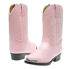 Durango Kids BT858 (Toddler/Youth) (Pink) - Toddler Girls Boots