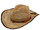 UGG - Crochet Raffia Cowboy Hat (Natural) - Hats