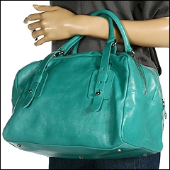 Furla Handbags - Narcisco Bauletto Medio (Laguna - Light Turquoise) - Bags and Luggage