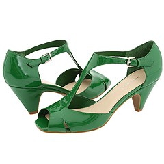 Nine West Nick (Red Synthetic) - T-Strap Dress Sandals :  pump nine west green shoes