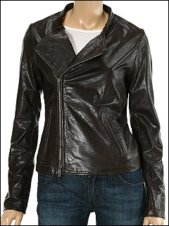 Converse® by John Varvatos Leather Biker Jacket - Free Shipping from zappos.com