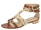 Via Spiga - Nile (Camel/British Tan Nubuck Python Print) - Footwear