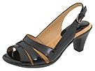 Retro Vintage Style Wide Shoes Softspots - Neima - Soft Spots Black Patent Womens Dress Sandals $79.95 AT vintagedancer.com