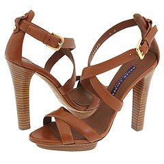 Ralph Lauren Collection Pasha (Gold Calf) - Women's from zappos.com