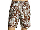 Reyn Spooner - Key Lime Floral Volley Short (Cocoa) - Apparel