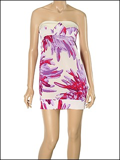 Just Cavalli - TO645848380S635 Mini Dress (Lavender) - Apparel