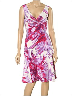 Just Cavalli - TO645648382S017 Dress (Lavendar) - Apparel